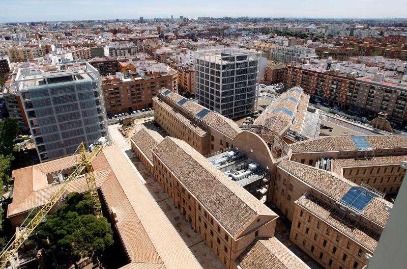 Vista general de la ciudad administrativa 9 d