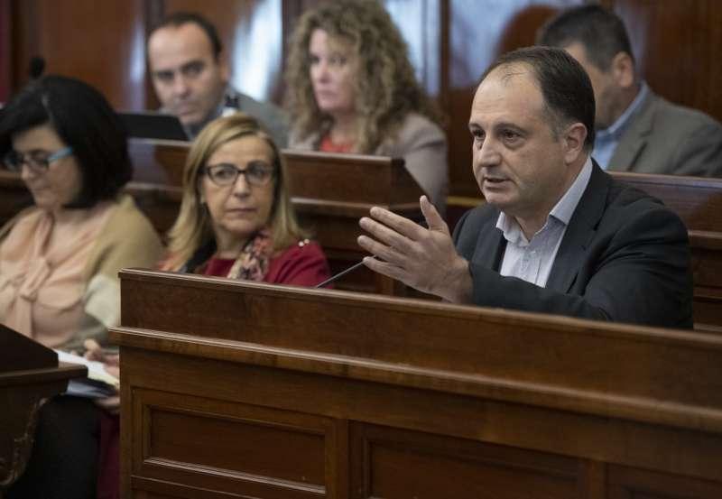 Salvador Aguilella en Diputación