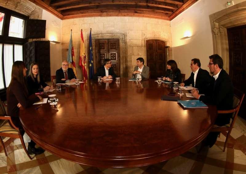 Comisión bilateral entre la Diputación de Alicante y Generalitat. EPDA