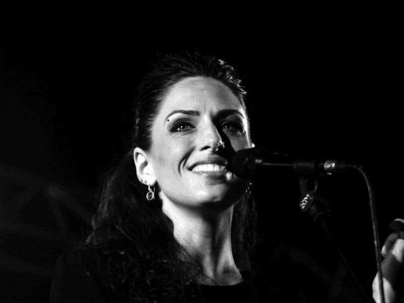 La cantante Aitana Ferrer. //EPDA