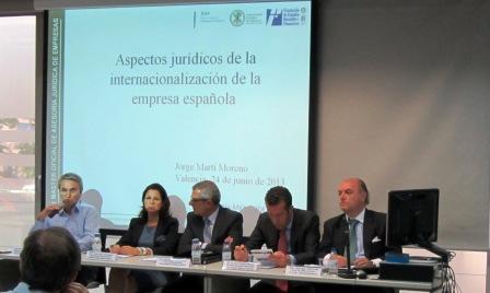 ?Internacionalización de la empresa española: aspectos jurídicos?. Foto EPDA