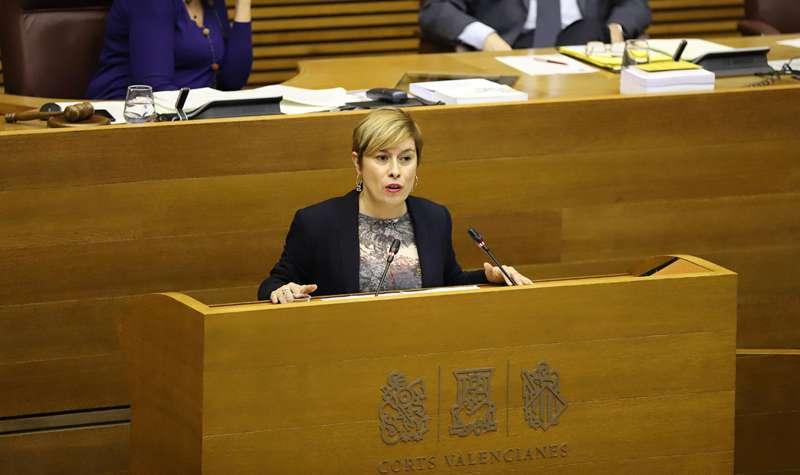 La portavoz de Ciudadanos en la provincia de Castellón, Merche Ventura. EPDA