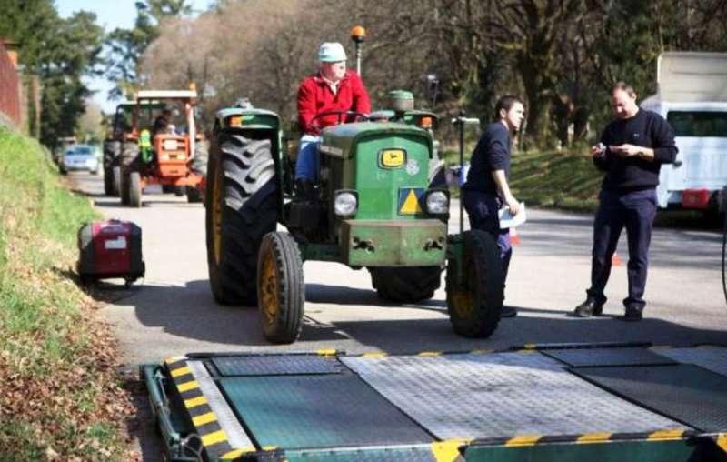 ITV agrícola. Imagen de archivo.
