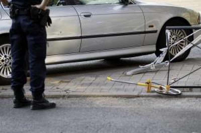 Imagen de archivo de un accidente de tráfico. EFE