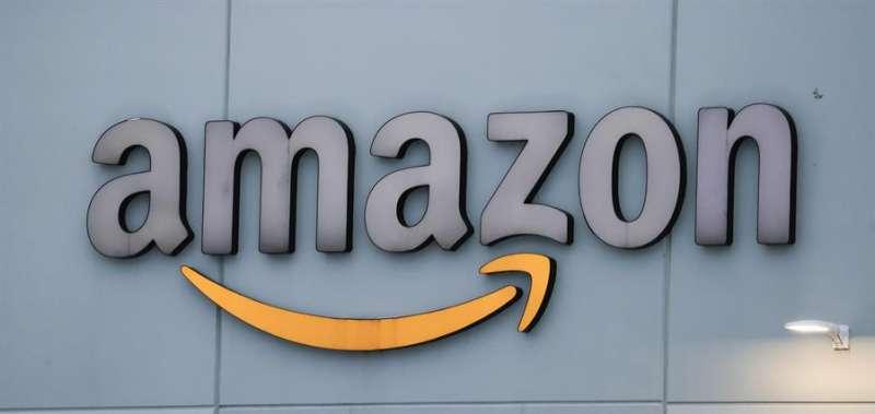 Logo en un almac�n de Amazon. EFEArchivo