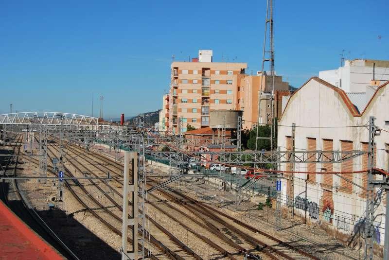 Estación de ferrocarril de Sagun. EPDA