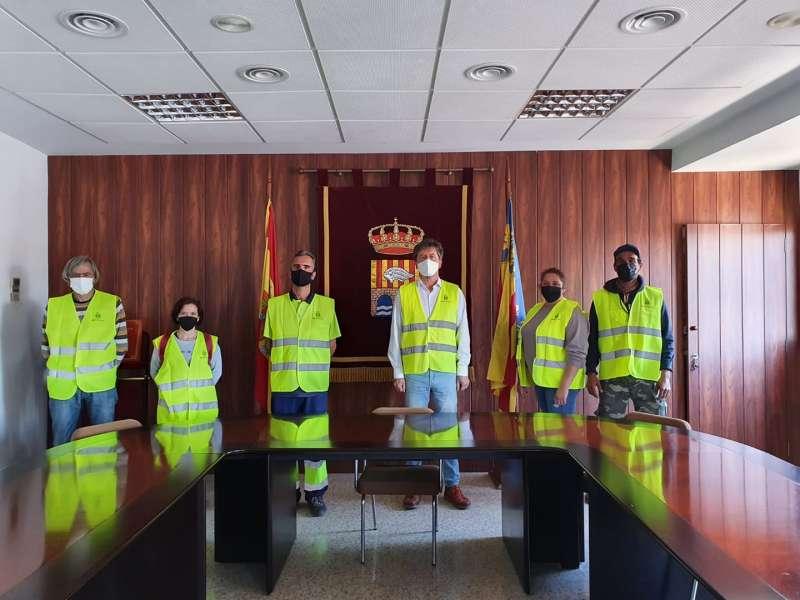Personal municipal Alcàntera de Xúquer./EPDA
