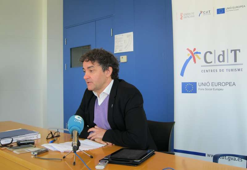 El secretario autonómico de Turisme, Francesc Colomer. EPDA