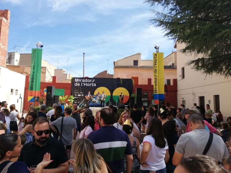 Celebración en Alfara del Patriarca.