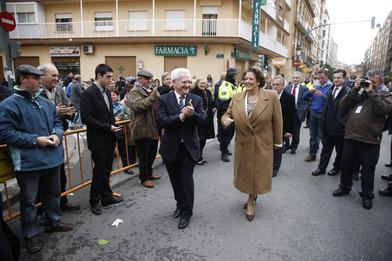 La alcaldesa en las fiestas de Sant Antoni