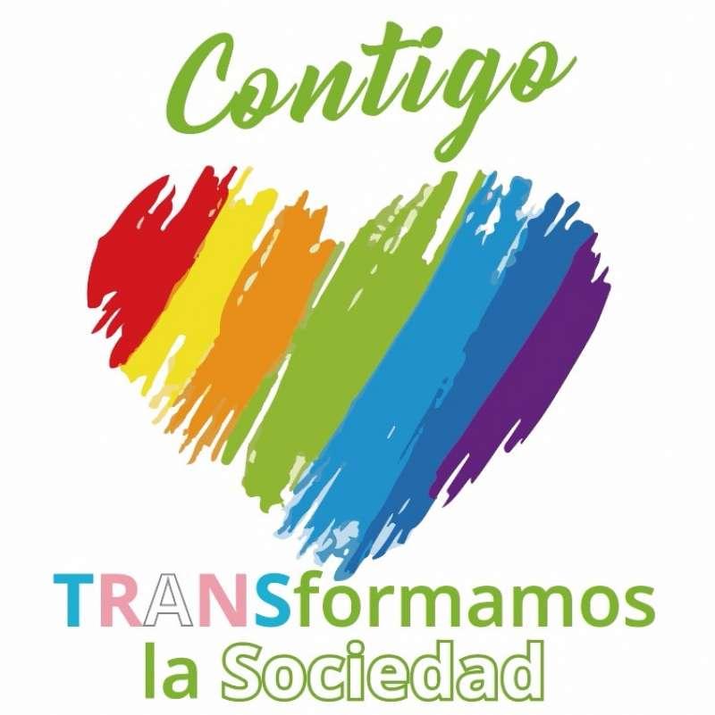 Eslogan de Contigo para el Día del Orgullo.