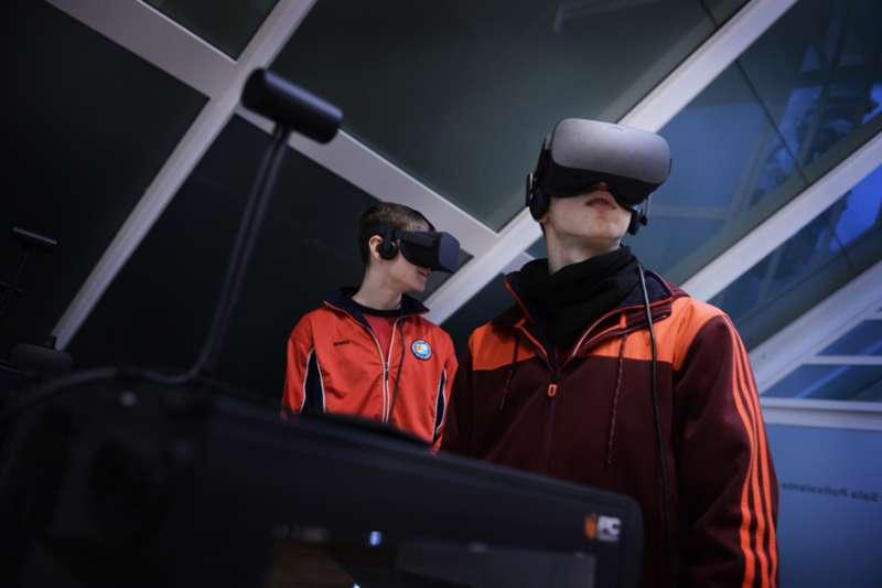 Taller de realidad virtual.