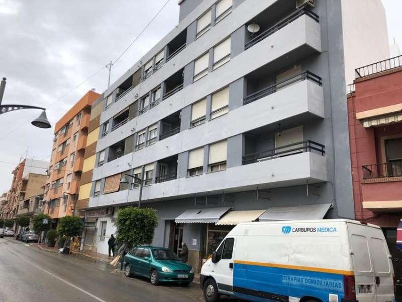 Imagen de un edificio de la localidad de Riba-Roja. EPDA