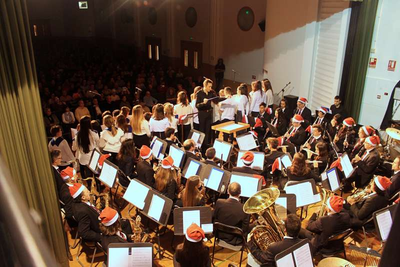 Concierto de Navidad de la La Unión Musical Porteña. -EPDA