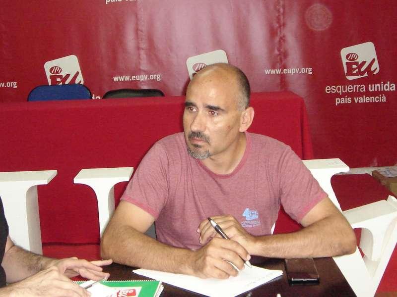 El coordinador de EUPV, David Rodríguez. EPDA