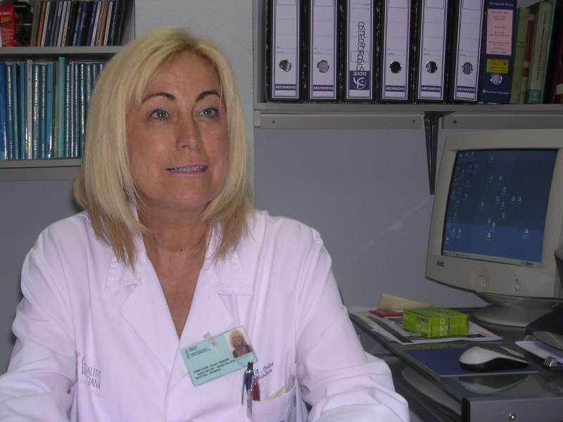 Doctora Inmaculada Calvo, responsable de la Unidad de Reumatología    Pediátrica del Hospital la Fe. FOTO: Hospital la Fe