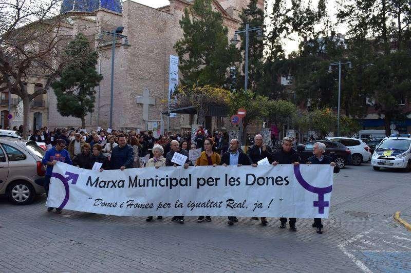 Marcha por la Igualdad en Massamagrell. EPDA
