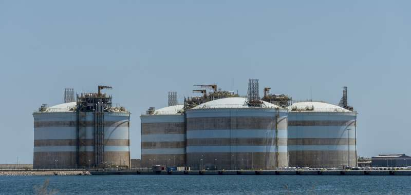 La planta de regasificación de Sagunt. EPDA