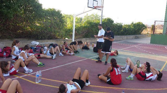 Imagen del entrenamiento. FOTO: EPDA