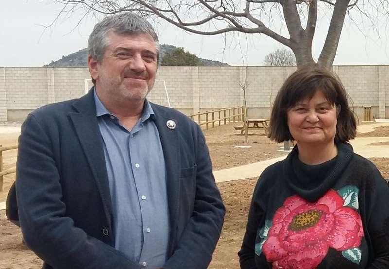El Diputat de Medi Ambient, Josep Bort i l