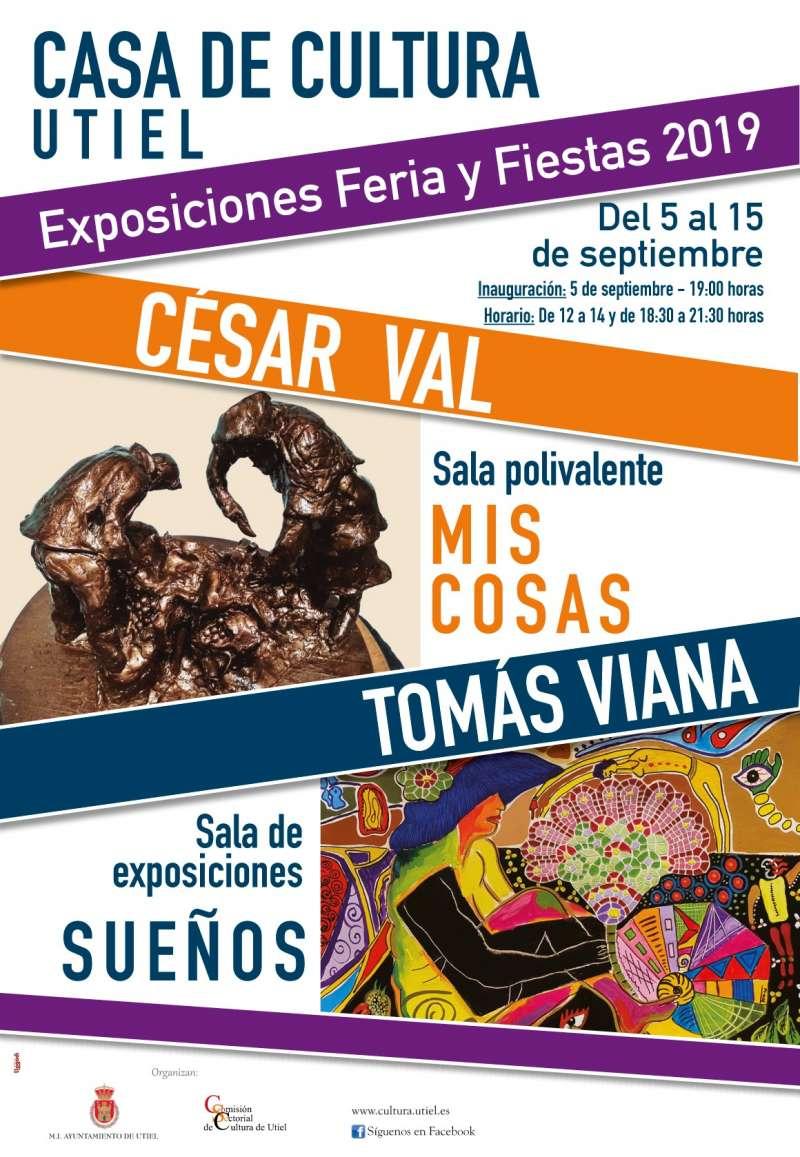 Cartel exposiciones Utiel