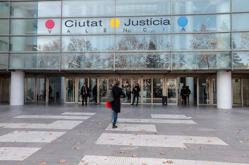 Ciudad de la Justicia de València. EFE