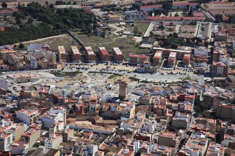 Terrenos militares de Paterna. EPDA