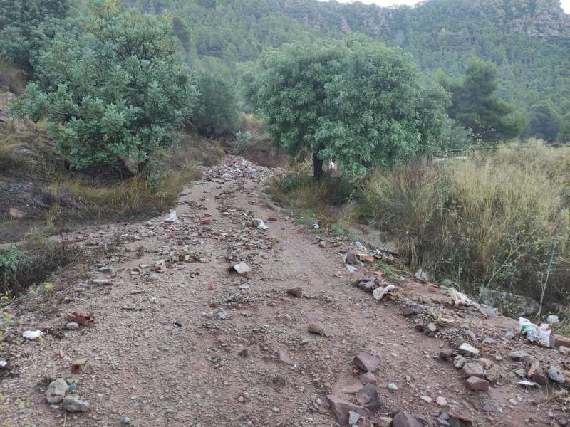 Efectos de las lluvias/EPDA