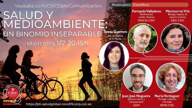Cartel publicitario Salud y medioambiente./PDA