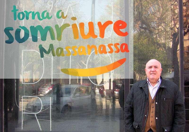 Foto de las redes sociales de Compromís del concejal de Massanassa, Josep Nàcher. EPDA