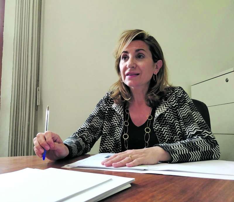 María Villajos, candidata del PP en Paterna. / EPDA