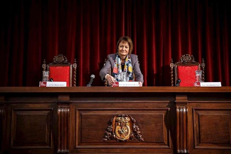 La rectora de la Universitat de Valencia, Mavi Mestre. EFE/Aliño/Archivo
