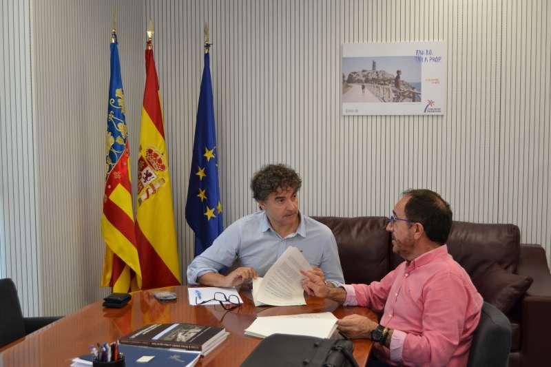 Francesc Colomer y Andrés Perelló.