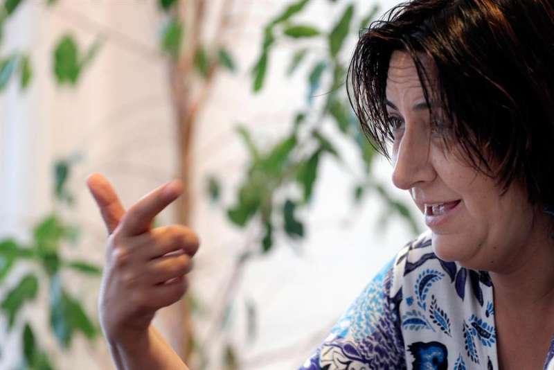 La coordinadora general de Esquerra Unida del País Valencià (y consellera de Participación, Transparencia, Cooperación y Calidad Democrática), Rosa Pérez Garijo. EFE/Försterling/Archivo