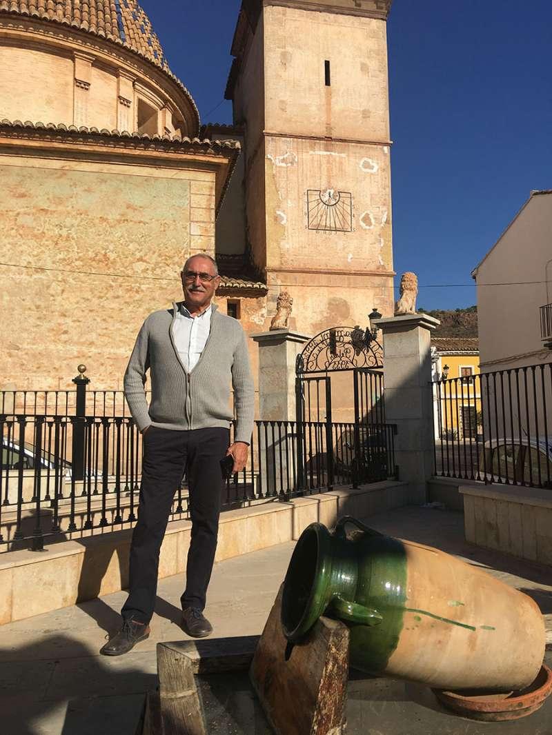 Pere Peiró, alcalde de Petrés. FOTO M. M.