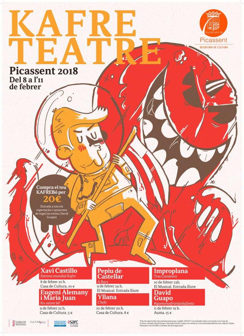 Festival kafre Teatre de Picassent de 2018. EPDA