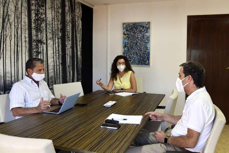 Reunión en Paiporta. EPDA