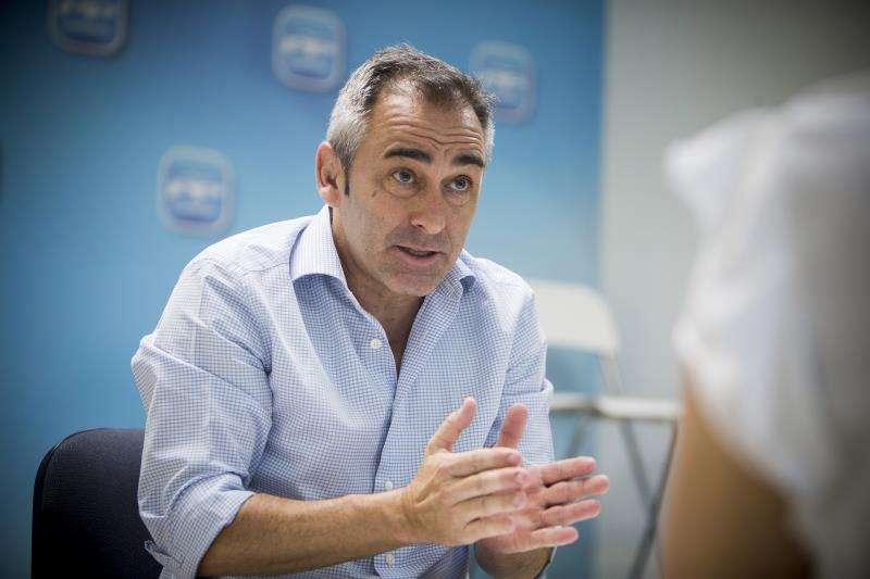 El diputado del PP Miguel Barrachina. EFE/Archivo