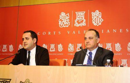 Jorge Alarte y Joan Calabuig. Foto EPDA