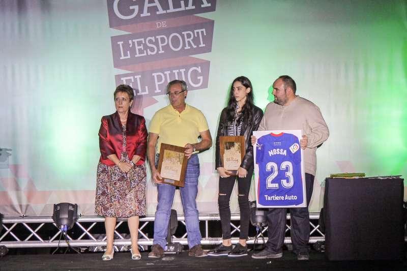 Celebración de la Gala del Deporte en El Puig.
