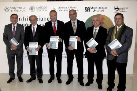 Presentación del Informe de Contribuciones Sociales y Económicas de las Universidades Públicas Valencianas. Foto EPDA