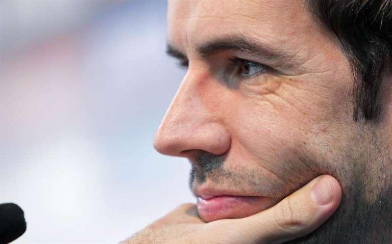 El exfutbolista David Albelda. EFE/Manuel Bruque/Archivo