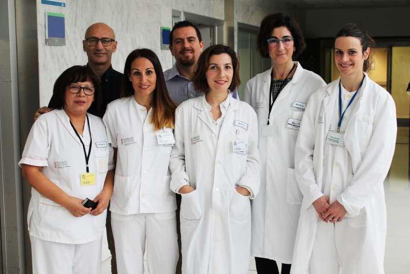 Equipo del servicio de Otorrinolaringología.