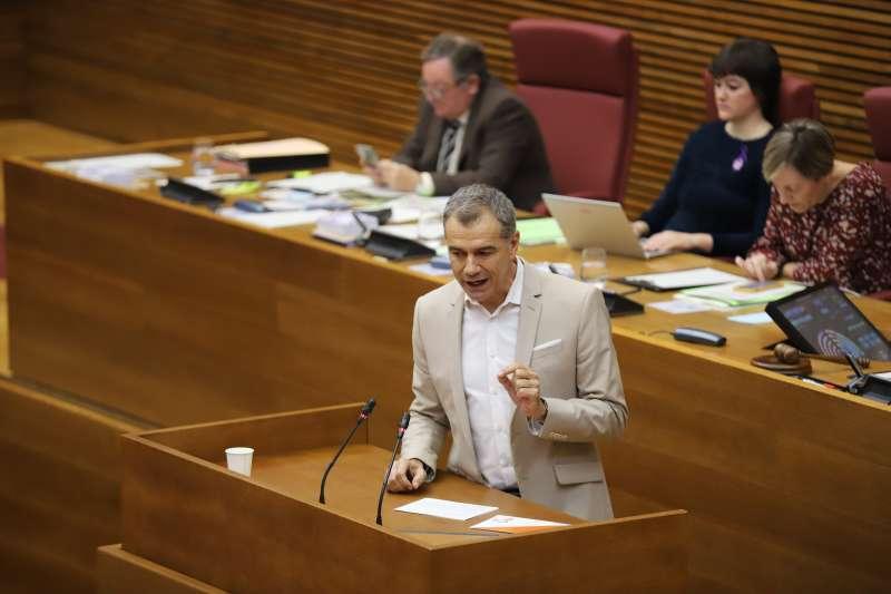 Síndic de Ciudadanos (Cs) en Les Corts valencianas, Toni Cantó. EPDA