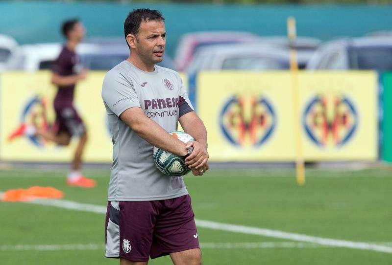 El entrenador del Villarreal, Javier Calleja. EFE/Archivo