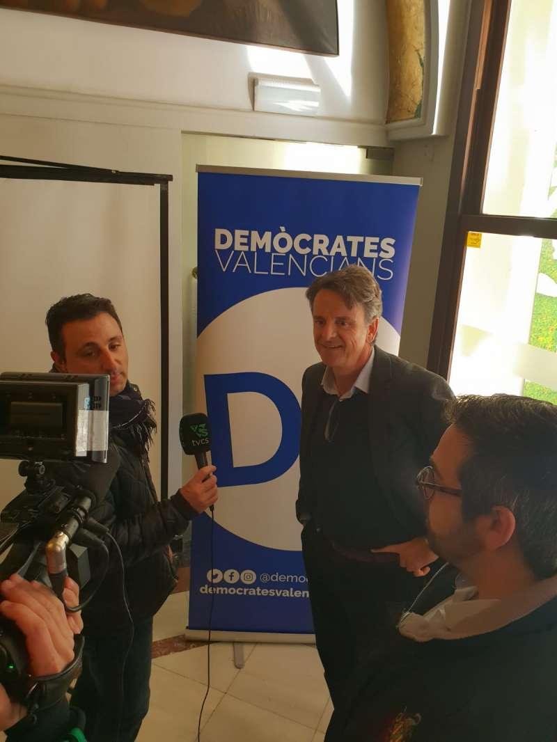 Roger Mira candidato de Demòcrates Valencians a la alcaldía de Castelló