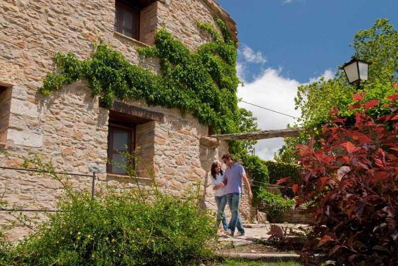 Una de las casas rurales turísticas de la Comunitat Valenciana