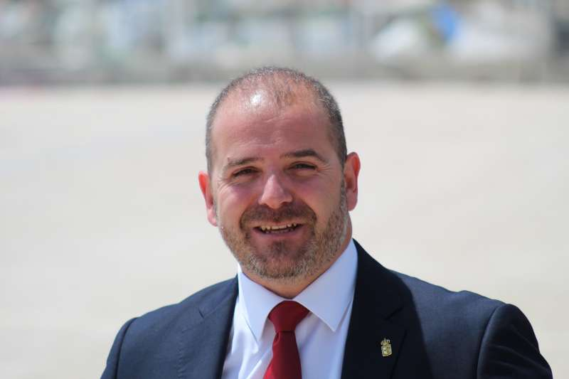 El concejal de Ciudadanos en el Ayuntamiento de Benicarló, José Maria Compte. EPDA