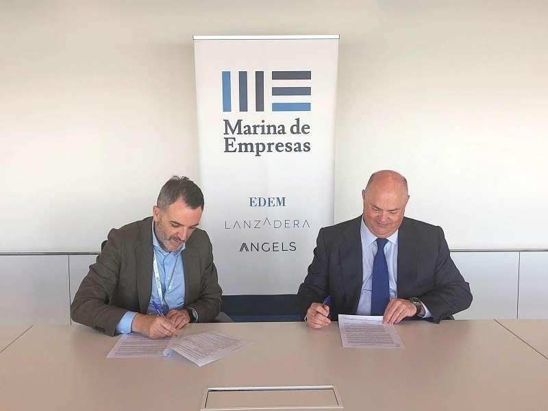 Firma entre Ribera Salud y Lanzadera. EPDA