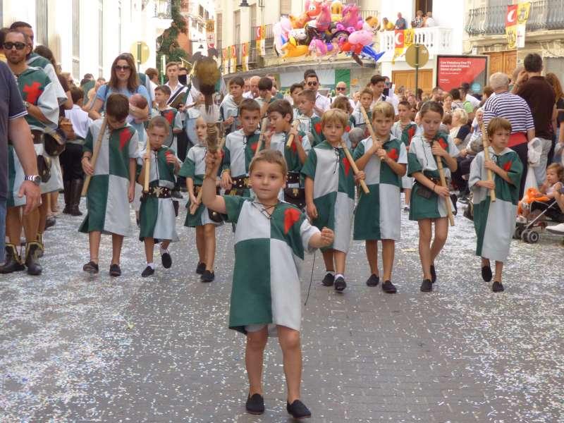 Entrada Infantil de Moros i Cristians.
